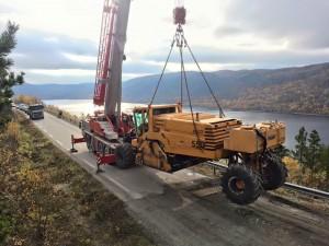 ATF90 hjelper til med motorhavari