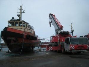 Oppdrag, Båtløft